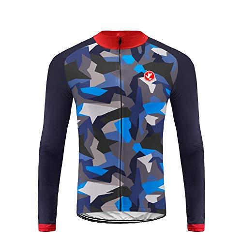 Uglyfrog 2019 Nuovo Abbigliamento Sportivo da Ciclismo, Maglia a Maniche Lunghe, Invernale Termica ZRMX09F