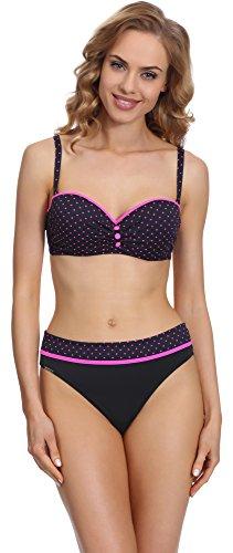 Antie Damen Bikini Set 71H31 2017 (Muster (1619), Cup 80D/Unterteil 40)