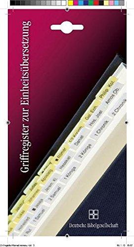 Griffregister für die Einheitsübersetzung: Einschließlich der Deuterokanonischen Schriften