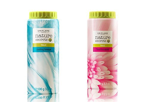 Oriflame Nature Secrets Talc - Floral Bouquet & Cooling Breeze 100gm  available at amazon for Rs.179