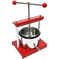 Mini prensa para frutas de 1,5 litros de acero inoxidable