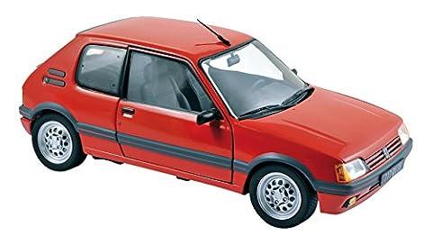 Voiture Miniature Peugeot 205 - Norev - 184853 - Maquette de Véhicule