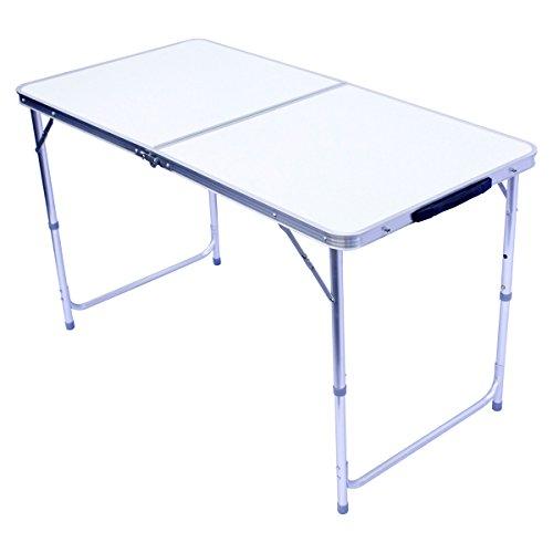 Klapptisch Campingtisch klappbarer Bestelltisch faltbarer Tisch Falttisch Gartentisch 120x60cm