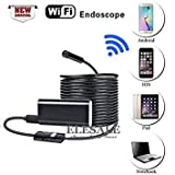 3nh 1Pc 2m Cable : New Wireless WiFi Endoscope Android iOS Camera HD