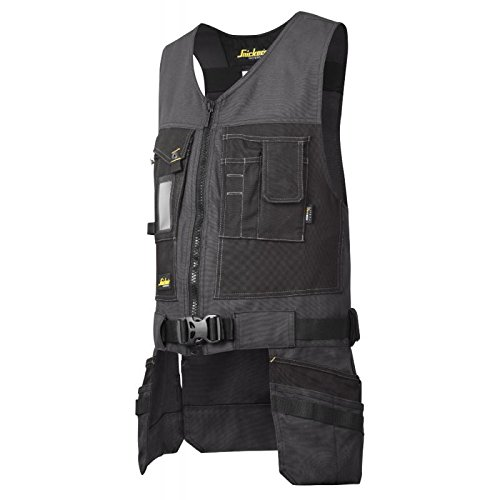 snickers-42545804006-size-large-canvas-tool-vest-steel-grey-black