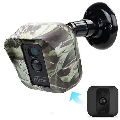 EastKing Blink XT Kamera-Wandhalterung, wetterfest, 360 Grad, vollständiger Schutz, verstellbar, für den Innen- und Außenbereich, Olive(1 Pack