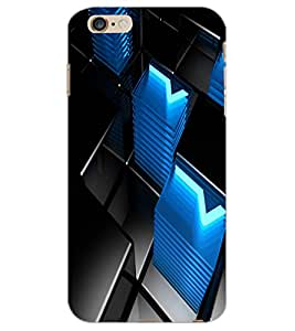 APPLE IPHONE 6 S PLUS BLOCKS Back Cover by PRINTSWAG