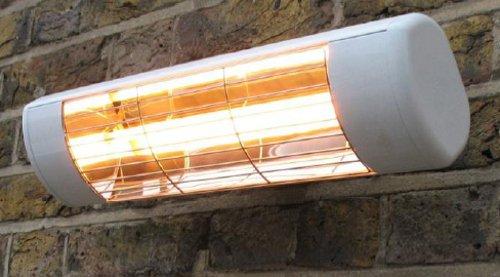 Firefly 1.500 Watt - Infrarot-Halogen-Heizstrahler Terrassenheizung zur Wandbefestigung