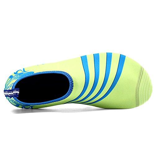 Amazmall Barefoot Skin calze a righe scarpe ciabatta piscina acqua Aqua calze spiaggia Swim A2