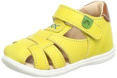 Kavat Vessla 50331, Baby Mädchen Lauflernschuhe, Gelb (Yellow), EU 23