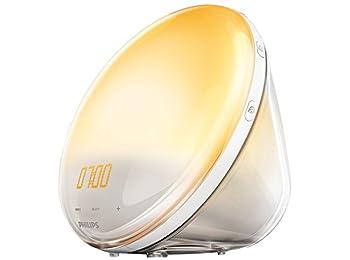HF3521/01 Wake-Up Light, Güneş Simülasyonu, Radyo - Beyaz