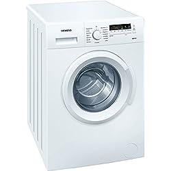 Siemens WM14B221 Waschmaschine FL / A+++ / 153 kWh/Jahr / 1400 UpM / 6 kg / 10560 L/Jahr / mit varioPerfect flexibel entweder 40 % Zeit oder 10 % Energie sparen / weiß