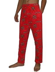 NCAA Maryland Terrapins hommes Fall / Winter Polar Fleece Thermal Sleepwear / Pajama Pantalon