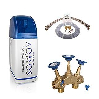 Wasserenthärthärtungsanlage R2D2-32 mit Zubehör Wasserenthärter Enkalkungsanlage von Aqmos Entkalkungsanlage Entkalker Wasserenthärtungsanlage Wasserentkalkungsanlage Weichwasseranlage Antikalkanlage