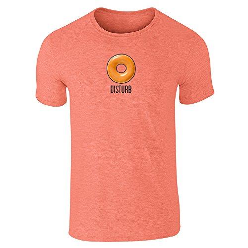 Pop Threads Herren T-Shirt Gr. XX-Large, Orange (Heather Orange)