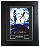 Nightmare Before Christmas Signed + Nightmare Before Christmas Film Cells Framed