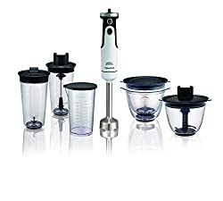 Morphy Richards Prep Set Total Control 650-Watt Hand Blender (White)