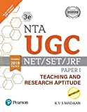 NTA UGC - NET/SET/JRF Paper I - Teaching and Research Aptitude | Includes