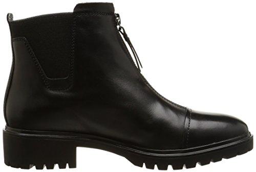 Geox D Peaceful B, Damen Chelsea Boots Schwarz (c9999)