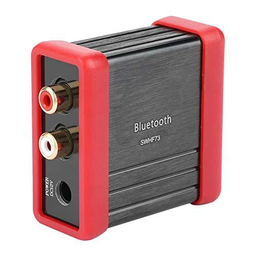 Taidda Car Audio Bluetooth Empfänger Box, 12VDC HF73 Wireless Bluetooth Audio Empfänger Box für Autolautsprecher Verstärker Ändern 12 Car-audio
