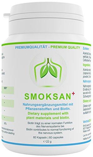 plantoCAPS® SMOKSAN+ aus der Apotheke | Endlich Nichtrauchen | Monatspackung Test