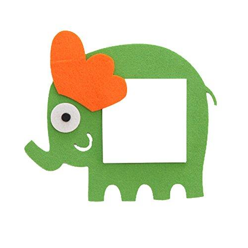 Preisvergleich Produktbild Set von 8 reizende Elefant-Schalter-Aufkleber für Hauptdekoration