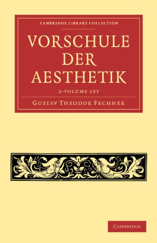 Vorschule der Aesthetik 2 Volume Set (Cambridge Library Collection - Art and Architecture)