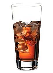 Pasabahce (F&D) Rocks-V Crystalline Long Glass 395 ml Set of 6 pcs