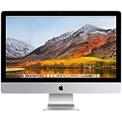 """Apple iMac 21.5"""", Intel Core i3 avec 3.06 GHz, 500 Go de Disque Dur, 4 Go de RAM, Full HD, Tout-en-Un, sans Souris ni Clavier, modèle à Usage Quotidien (Reconditionné)"""