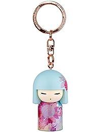 Porte clé Kokeshi Kimmidoll 5cm Megumi - bonté