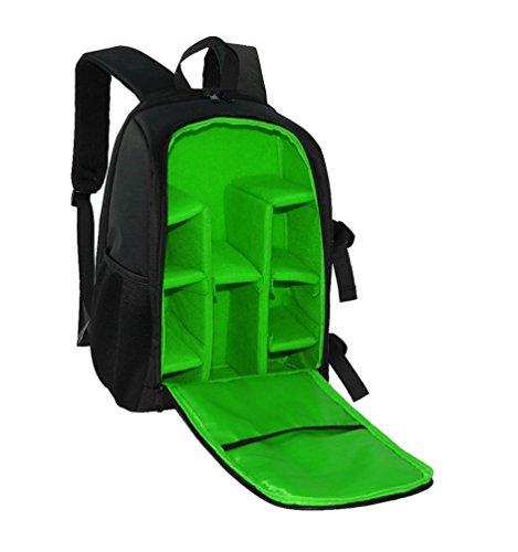 WanYang Wasserdichte Kameratasche-professionelle große Kapazität mit Stativ-Bügel-Kamera-Zusätzen Grün