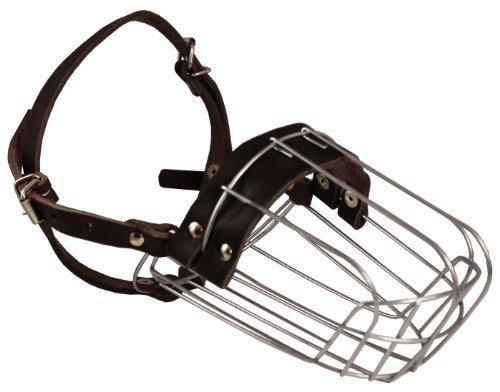 Metal Wire Basket Dog Muzzle Doberman Pinscher Female, Collie. Circumference 10.75″, Length 4″
