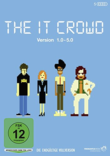 The It Crowd - Version 1.0 - 5.0 - Die endgültige Vollversion (5 DVDs) - Big-bang-dvd-staffel 1