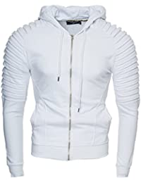 291489dc6e4 Kayhan Men´s Hoodie Jacket Sweatshirt Pullover Cotton Unisex Modell .