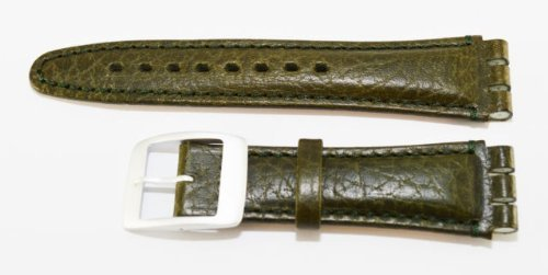replacement-green-leather-swatch-watch-strap-19mm-by-condor