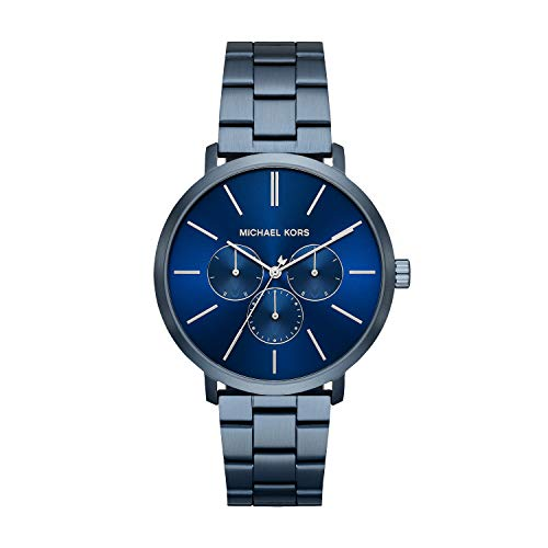 Michael Kors Herren Analog Quarz Uhr mit Edelstahl Armband MK8704