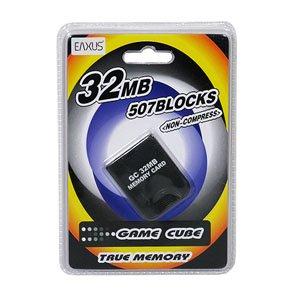 EAXUS Memory Card 32MB für Nintendo GameCube + Wii
