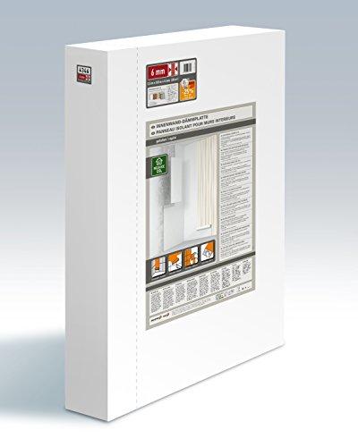 Climapor Dämmplatte, weiß, 2,5 x 0,8 m x 6 mm Faltplatte - SONDERPREIS 10 Stück (= 20 qm)