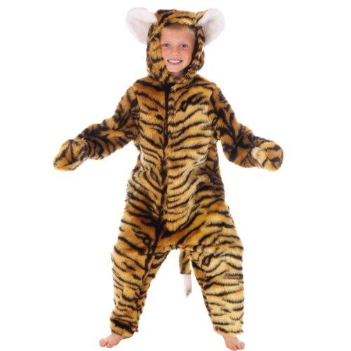 Unbekannt Tigerkostüm für Kinder 4-6 Jahre.