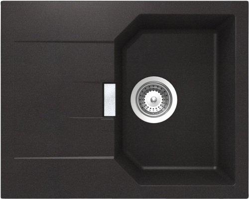 Schock Küchenspüle Manhatten D-100XS, Auflage in Nero