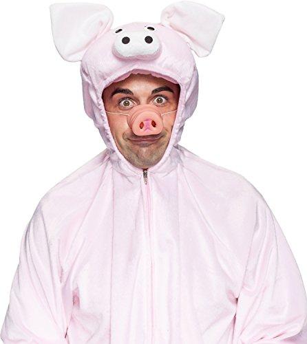 Orlob Kostüm Zubehör Schweinerüssel Nase zum Schwein Karneval Fasching (Schwein Nase Und Ohren Kostüme)