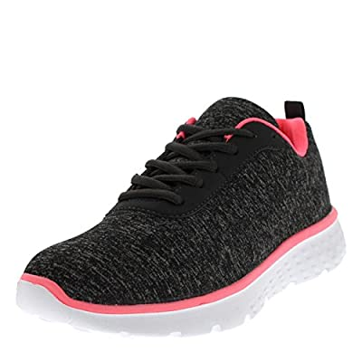 Get Fit Womens Mesh Go Running Trainers Athletic Walk Gym Shoes Sport Run