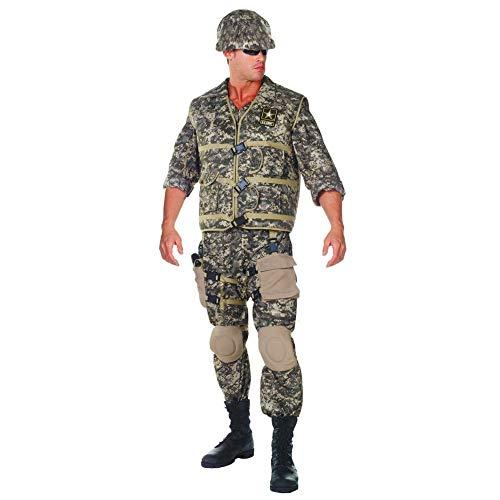 S. Army Ranger Fancy Dress Costume Standard ()