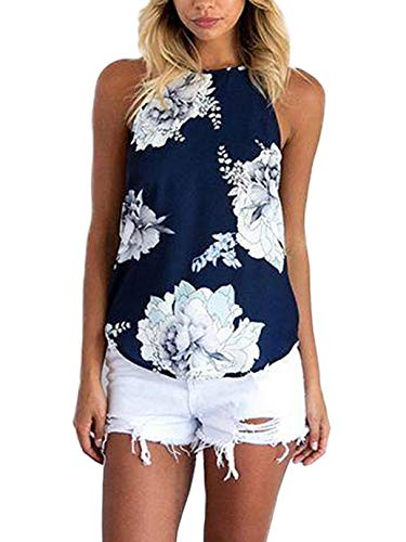 Bobopai Womens Floral Blouse Cold Shoulder V Neck 3/4 Bell Sleeve Loose Casual Chiffon Shirt Tops Size 6-23 -