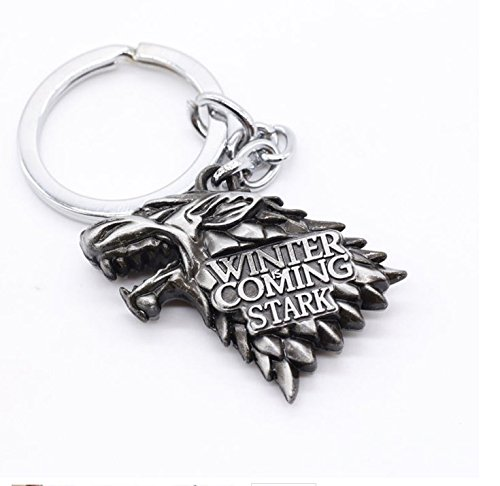 Game of Thrones Metal Portachiavi Keychain Stark Sigil Noble Collection