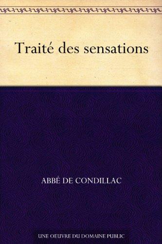 Couverture du livre Traité des sensations