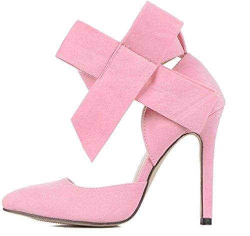 Da donna-Tacchi-Formale / Serata e festa-Tacchi-A stiletto-Scamosciato-Nero / Blu / Verde / Rosa / Rosso Pink