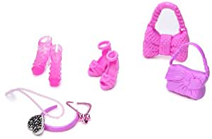 Mattel - Barbie, Scarpe e accessori, colore: Rosa