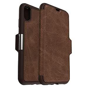 OtterBox 77 60133 Serie Strada Folio Custodia Protezione di Classe per iPhone XS Max, Espresso