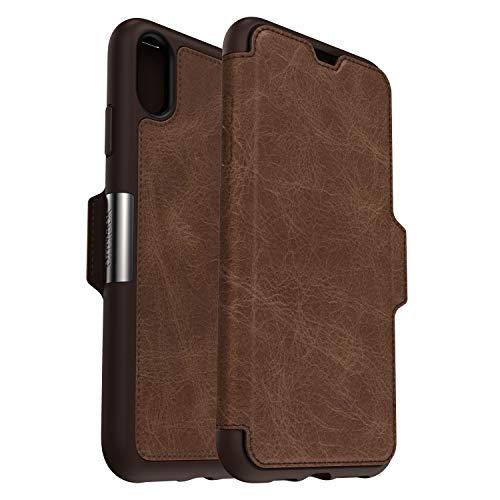 OtterBox 77-60133 Serie Strada Folio Custodia Protezione di Classe per iPhone XS Max, Espresso